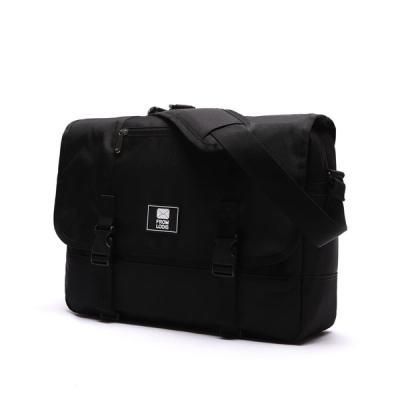 [로디스] COMFORTABLE MESSENGER BAG - ALL BLACK