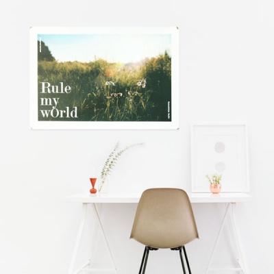 Rule My World 패브릭포스터 태피스트리