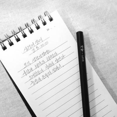 [BelieveIn] 성령의 열매 흑목육각연필 세트(9EA)