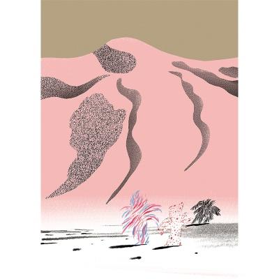 사막 / 일러스트 액자