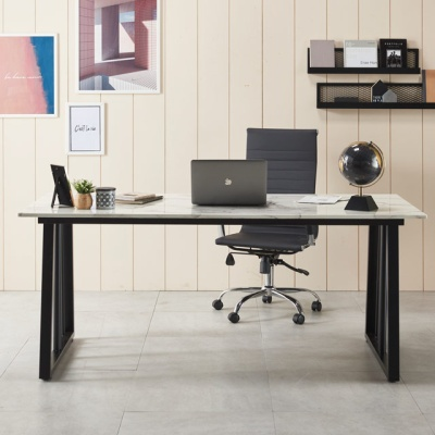 컴퓨터책상 폭600 1200 대리석 책상 사무용