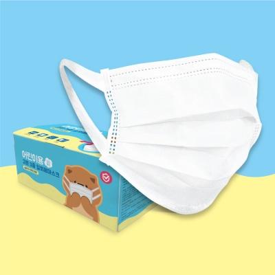 [시로앤마로 프렌즈] 유아용 3중구조 일회용 마스크