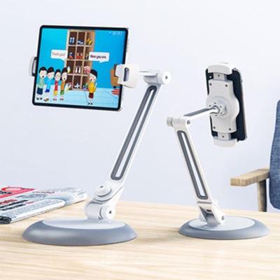 태블릿 폰 360각도조절 스탠드 자바라 거치대/책상