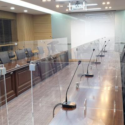 회의실 회의석 아크릴 8인세트 가림막 주문제작가능