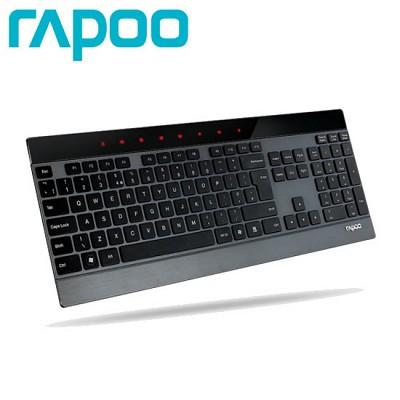 RAPOO 5GHz 무선 키보드 RAPOO-E9270P (4.0mm 초슬림 / 8개 멀티키 / 터치 감응방식 / 진동형 미디어 버튼)