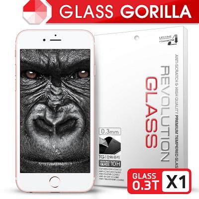 [프로텍트엠] 레볼루션글라스 고릴라 0.3T 강화유리/방탄액정보호필름 아이폰6S플러스/6플러스 iPhone6S Plus/6 Plus 5.5인치