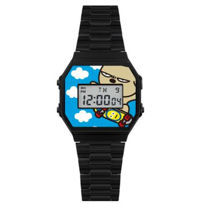 [HOZO] 캐릭터 손목시계 HZ-BROWN-BK