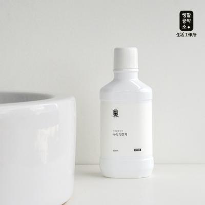 [생활공작소] 구강청결제 500ml x 4개 민트향