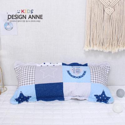 [디자인엔] 순면워싱 별팡팡 아동솜베개30x70
