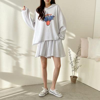 [Set] New York Hood Tee + Mini Skirt
