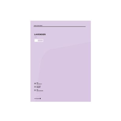 2000 테마컬러 도톰한 투포켓화일(바이올렛)