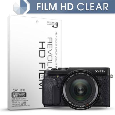 [프로텍트엠/PROTECTM] 레볼루션HD 올레포빅 고광택 액정보호필름 2장 미러리스 디지털 카메라 CAMERA FUJIFILM 후지필름 X-E2S