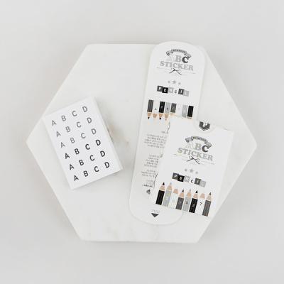 알파벳스티커팩-03 펜슬