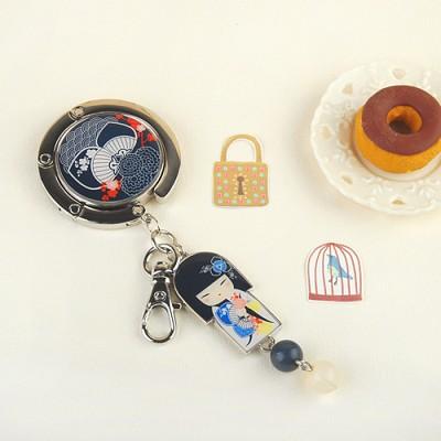 [키미돌] 가방걸이 - 자신감의 TSUKIKO (KF0507) 슈키코 가방걸이