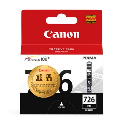 캐논(CANON) 잉크 CLI-726 / Black / iP4870,iP4970,MG5170,MG5270,MG6270,MX886,MX897