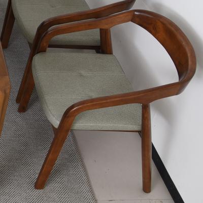 라이젠 1인 원목 의자