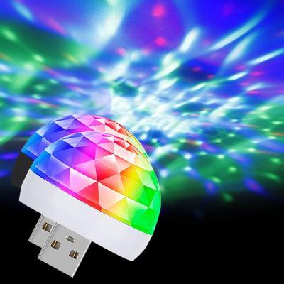 소리에 반응하는 USB LED 매직 미러볼 젠더3종포함