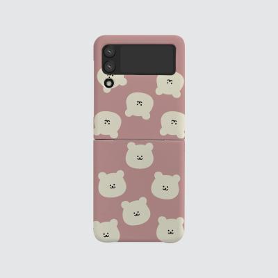 168cm(무광-Z플립3) 곰찌 패턴 핑크