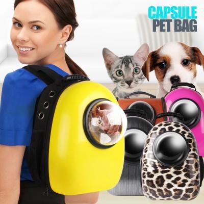 푸딩스페이스 캡슐백팩 애견가방 고양이가방 이동장