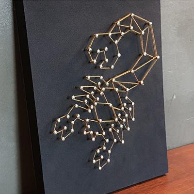 별자리 스트링아트(전갈자리)