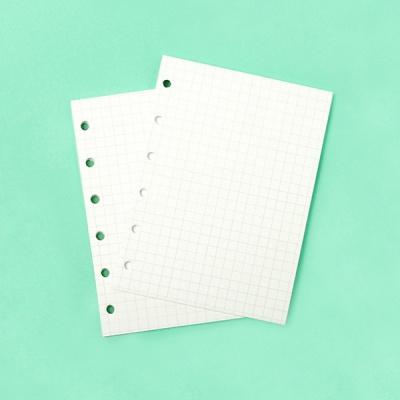 [루카랩] 미니 6공 리필 모눈 노트