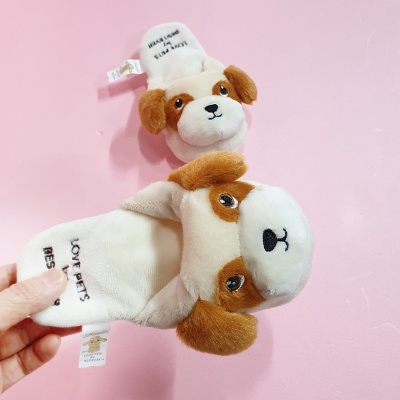 Love Pet Squeaky Beagle slipper바스락삑삑