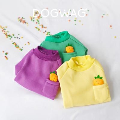 당근 맨투맨 강아지 옷 겨울 티셔츠 실내복