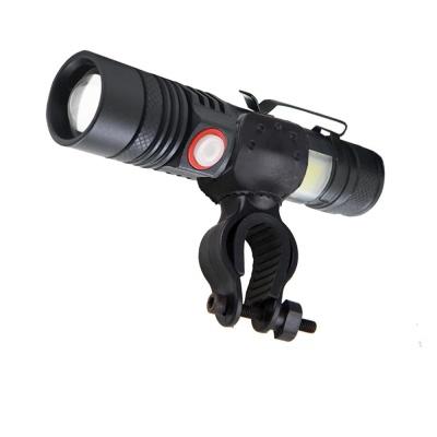 LED 충전식 자전거 전조등 랜턴 자전거라이트 518C