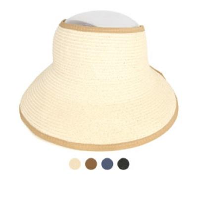 [디꾸보]라인 배색 포인트 썬캡 모자 DCH-JAN380