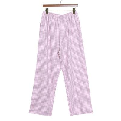 [쿠비카]올록볼록 면 체크 파자마 여성잠옷 W834