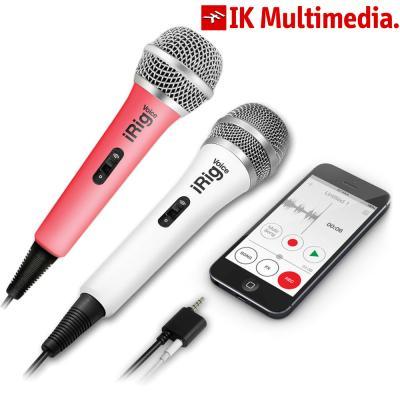 IK멀티미디어 휴대용 3.5mm 마이크로폰 iRigVoice