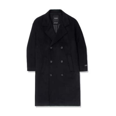 heavy wool overcoat_bk 블랙코트 남성코트 남자코트