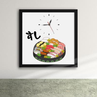 cv625-모듬초밥_액자벽시계