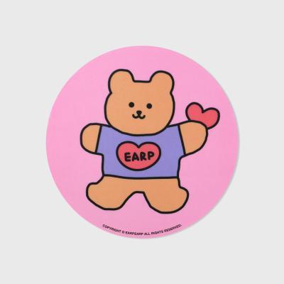 pink Bear heart(마우스패드)