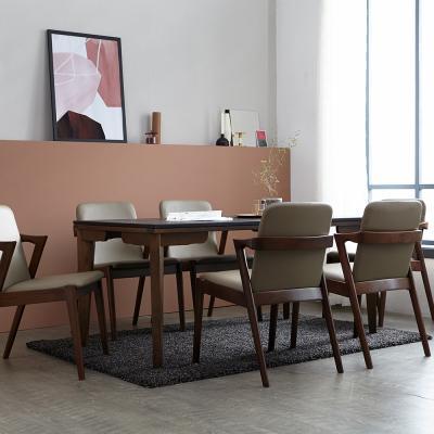 [리비니아]보르도 아네타 6인 화산석 식탁세트