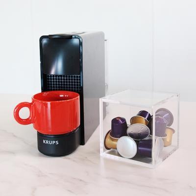 아크릴 캡슐커피 보관함 네스프레소 커피캡슐 박스