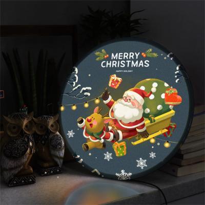 nh681-LED액자45R_산타와신나는크리스마스