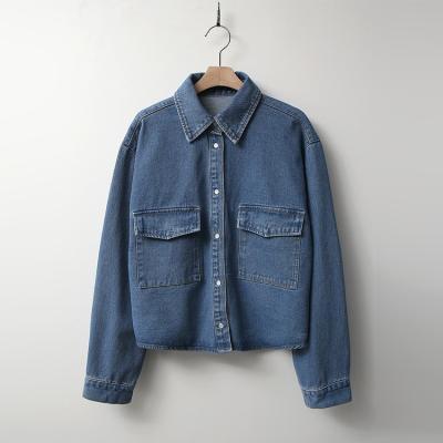 Mimi Crop Denim Jacket
