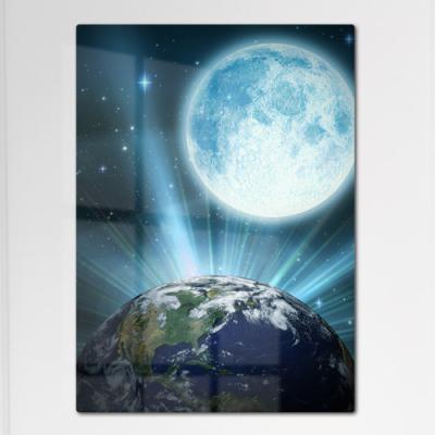 ir176-폼아크릴액자56CmX78Cm_지구와달