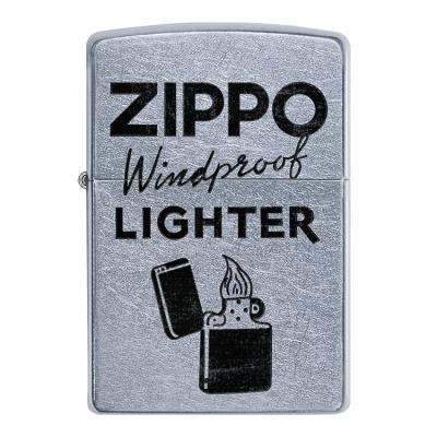 ZIPPO 라이터 49592 STREET CHROME COLOR IMAGE