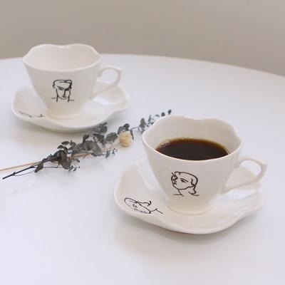 앙리마티스 커피잔 세트