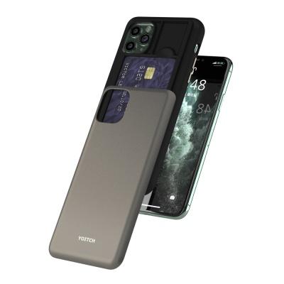 아이폰 11 pro  max 픽시 에드온 카드 범퍼 케이스