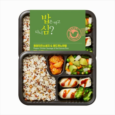 밥심도시락 A타입-건강식단관리 6종
