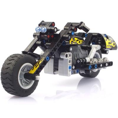 블록테크닉 오토바이 풀백 작동블록 CBT291120