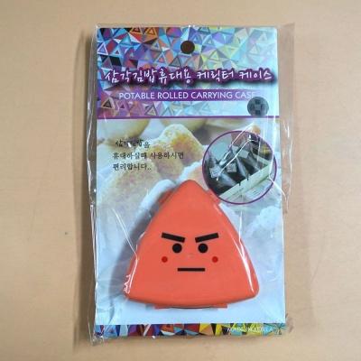 삼각김밥 휴대용캐릭터 케이스 간편조리도구 주방용품