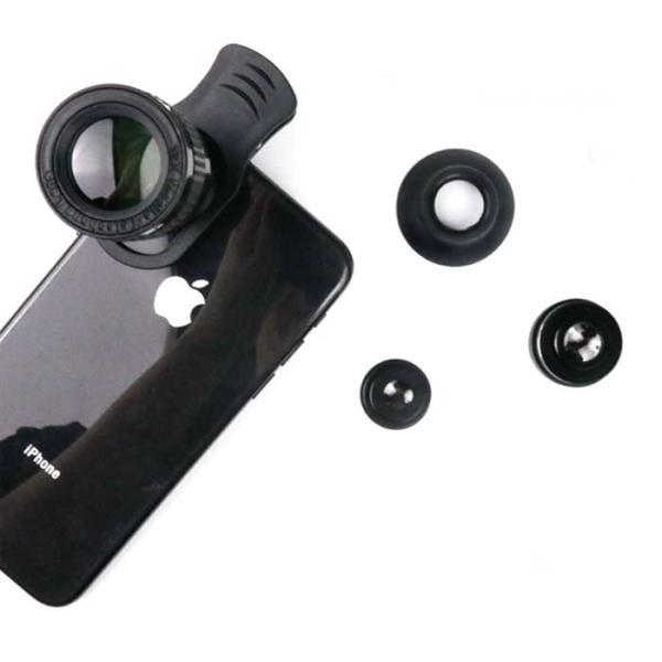 스마트폰용 셀카 슈퍼렌즈(12배)