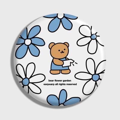 Bear flower garden-white(거울)