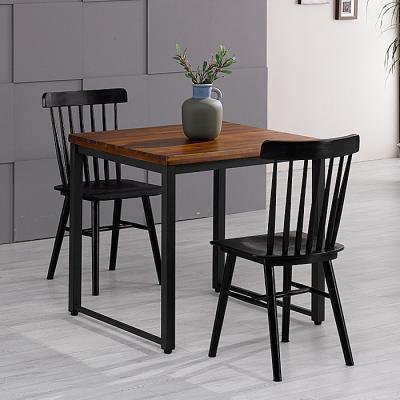 유럽형 아카시아 2인 식탁+의자801 세트 FN702-11