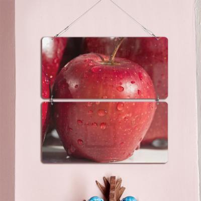 nl922-멀티아크릴액자_이슬촉촉붉은사과(2단)