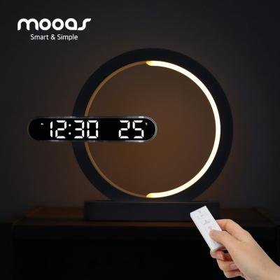 [무아스] 문라이트 듀얼 LED 벽시계 무드등